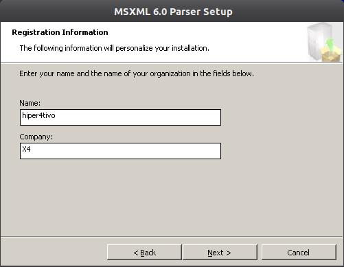 msxml6 3 Instalação do Microsoft Office 2010 no ubuntu 11.10 com Wine 1.4
