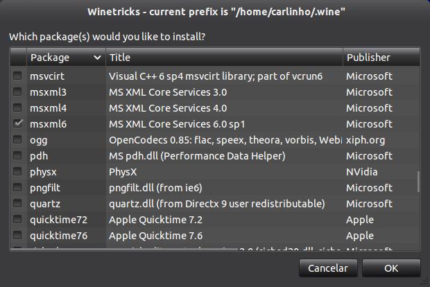 tela3b Instalação do Microsoft Office 2010 no ubuntu 11.10 com Wine 1.4