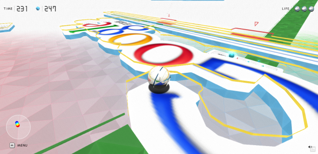 Novo experimento do Chrome transforma sites em games 3D