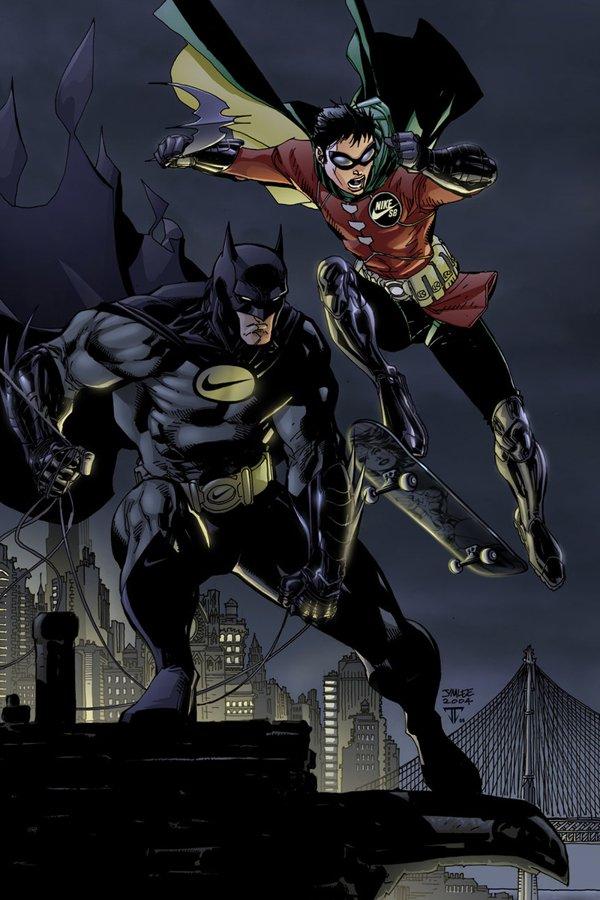 Batman e Robin Nike