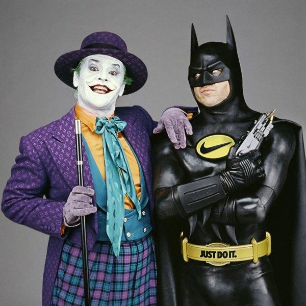 Batman e Coringa Nike