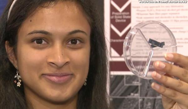 Garota inventa supercapacitor que recarrega a bateria do seu celular em 30 segundos