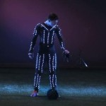 Lionel Messi Executa Super Slow-Motion no equipamento LED Hypnotic