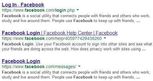experimento do Google para buscas