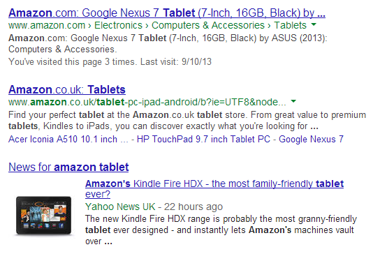 Busca google urls