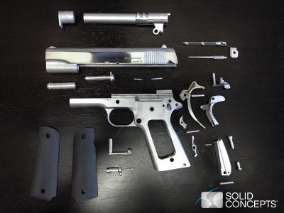 Primeira arma de verdade impressa em uma impressora 3d