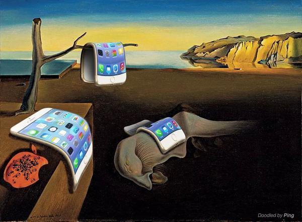 Iphone 6 versão Salvador Dalí ii