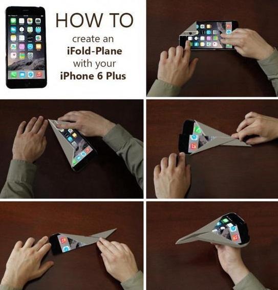 como fazer um origami com iphone 6