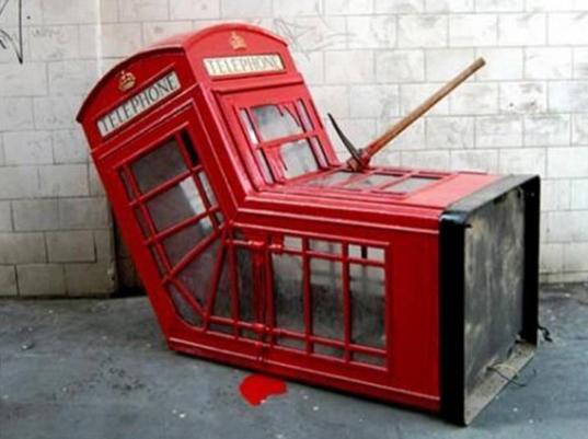 se a Apple fizesse Cabine telefônicas