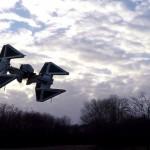 Drone em Réplica de TIE Interceptor do Star Wars (Você pode construir o seu)